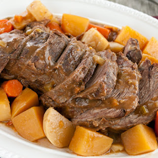 Pot Roast, Such As Blade, Chuck, Or Cross Rib Pot Roast.
