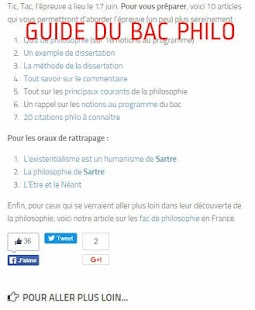 Philosophy in French- screenshot thumbnail