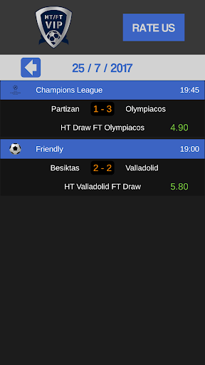 Betting Tips Half Time Full Time screenshot