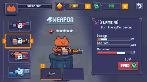 Cat Gunner: Super Zombie Shooter Pixel filehippodl screenshot 9