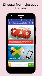 Jamaica Radio Music & News- screenshot thumbnail