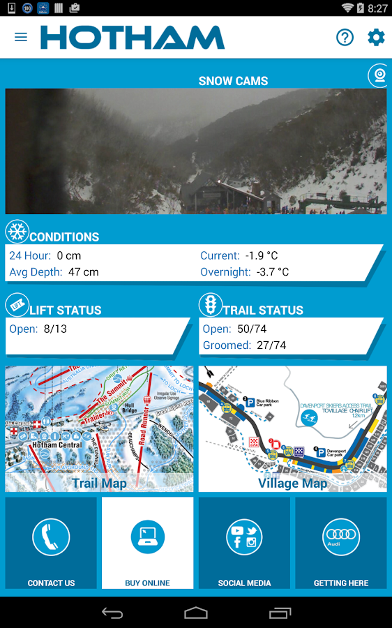 Hotham- screenshot