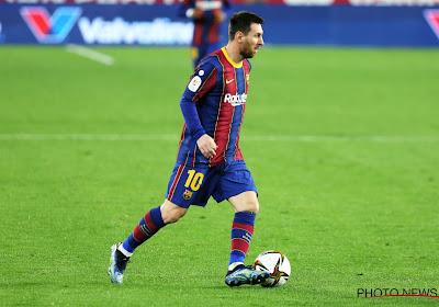 CIJFER VAN DE WEEK: 405 voor Messi, 334 voor beste speler uit Belgische competitie (en 5 man van Club in top-10)