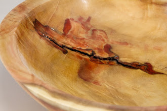 "Photo: Tim Aley 9 3/4"" x 3"" bowl [box elder]"