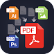 File to PDF Converter(Ai, PSD, EPS, PNG, BMP, Etc)