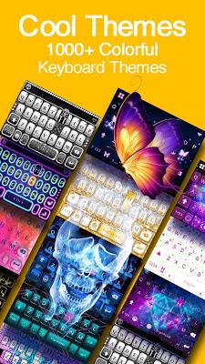 Kika Keyboard - Cool Fonts, Emoji, Emoticon,GIF - screenshot