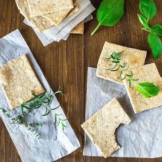 Homemade Almond Herb Cracker Recipe (Paleo & Gluten Free) Recipe
