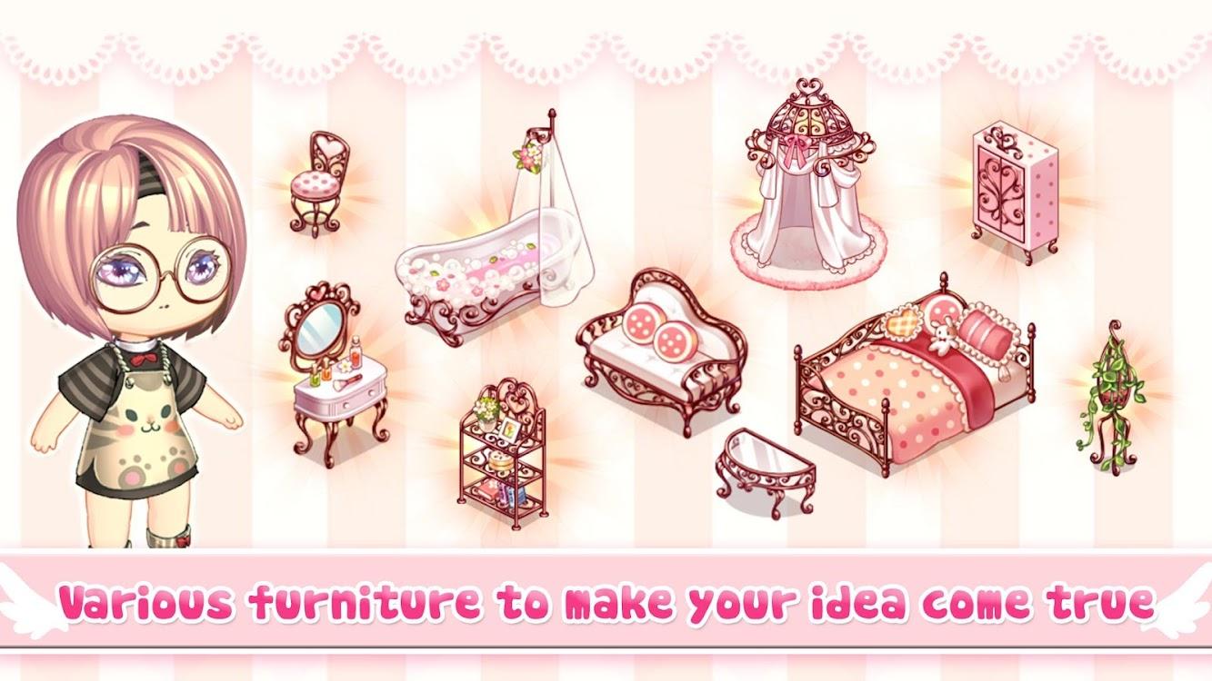 Kawaii Home Design Game