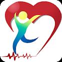 Cardio journal - Blood pressure diary icon