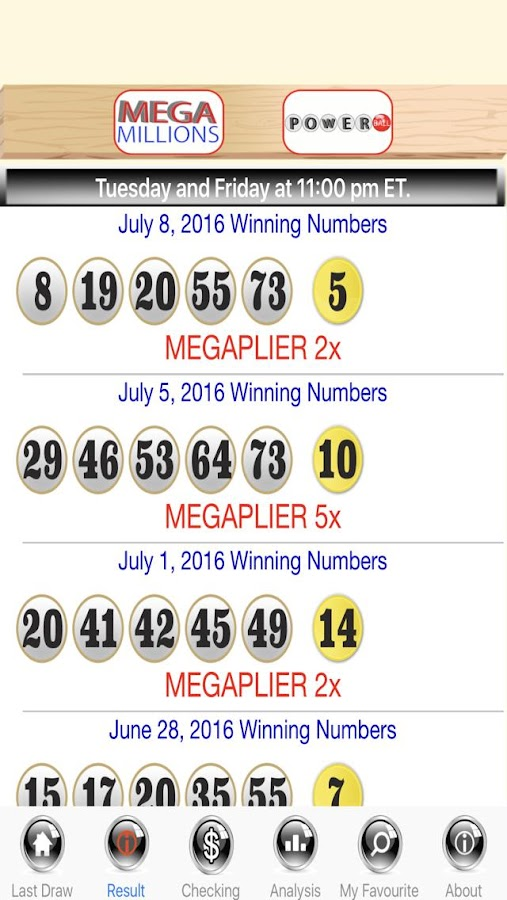 Powerball Past Winning Numbers History