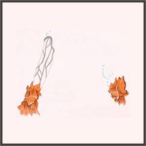 蝶の腕飾り