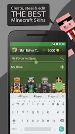 Skin Editor Tool for Minecraft Screenshot 1