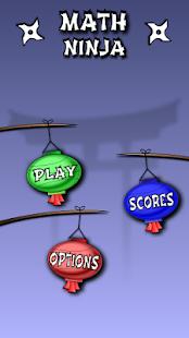 Math Ninja screenshot