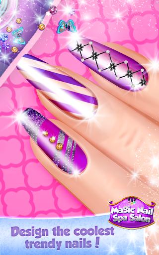 Magic Nail Spa Salon:Manicure Game