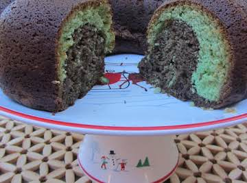 Creme Dementhe Bundt Cake