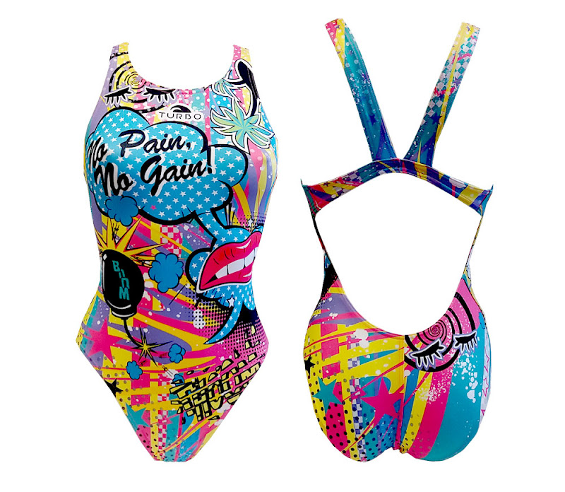 Turbo Swimsuit Women CRAZY COMIC - 8303621