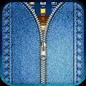 Jeans Zipper Lock Screen icon