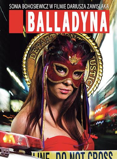Polski plakat filmu 'Balladyna'