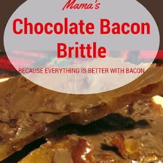 Mama's Chocolate Bacon Brittle.