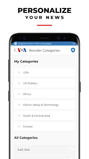 VOA News 4.1.5 Screenshots 6