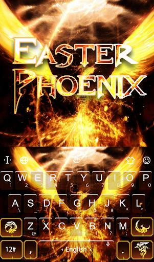 Download Easter Phoenix Keyboard Theme MOD APK 2