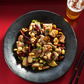 Authentic Kung Pao Chicken.