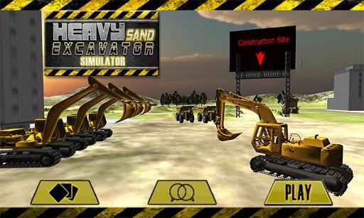 Heavy Sand Excavator Simulator