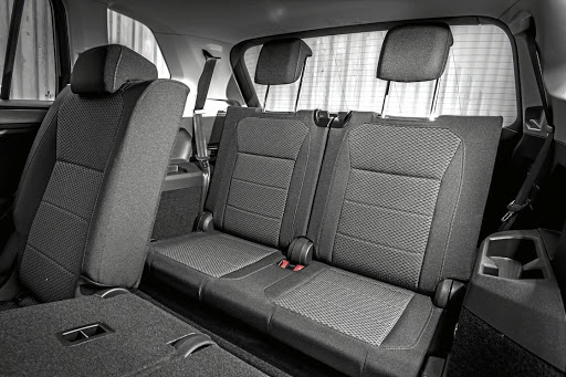 The third row of seats are for occasional use but occasionally they can be very useful. Picture: QUICKPIC
