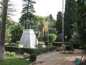 Photo: Military memorial - Parco Colonna, Taormina