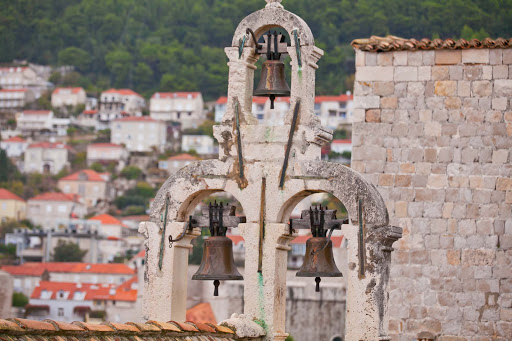 Old-Dubrovnik-bells.jpg - Church bells overlooking Old Dubrovnik.