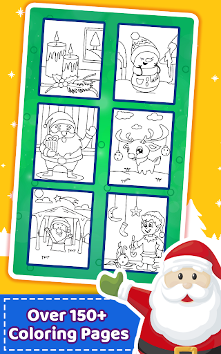 Christmas Coloring Book & Games for kids & family ss2