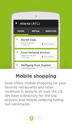 Grab - Airport Mobile Ordering 1.0.14 screenshots 1