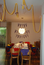 Photo: Decor for the party before the chaos