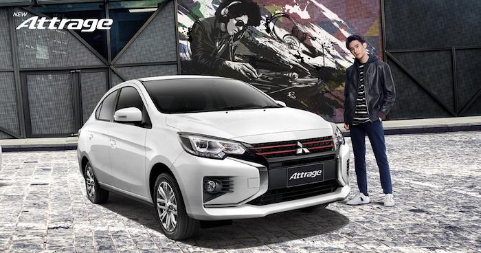 New Mitsubishi Attrage Minorchange