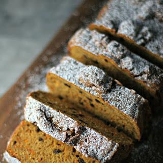 Carrot Pumpkin Bread.