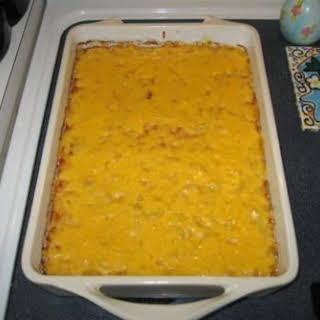 "Homemade ""Macaroni & Cheese"" by Paula Deen."