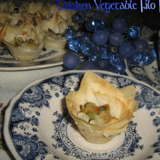 Chicken Vegetable Filo Pastry