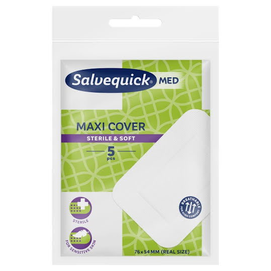 SalvequickMED Maxi Cover 5 st