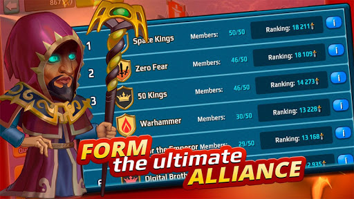 Battle Arena: Heroes Adventure - Online RPG 1.7.1401 screenshots 6