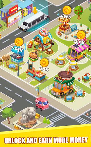 Idle Restaurant Tycoon: Food Square screenshots 1