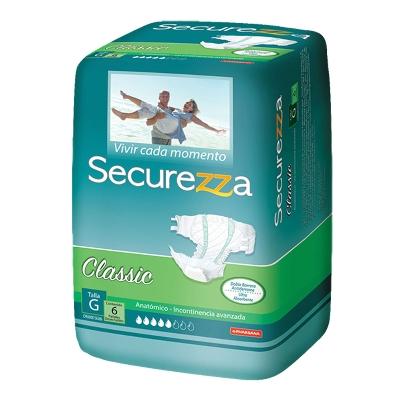 panal incontinencia securezza classic talla g 6 und