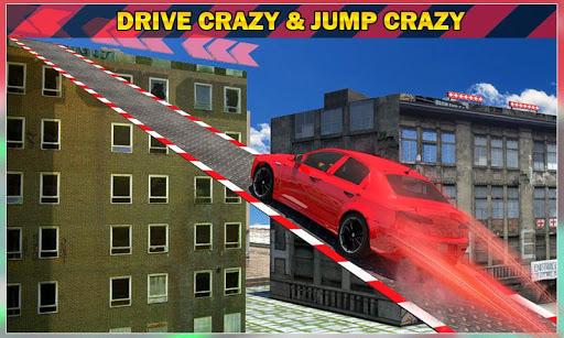 Car Roof Jumping Stunts 3D
