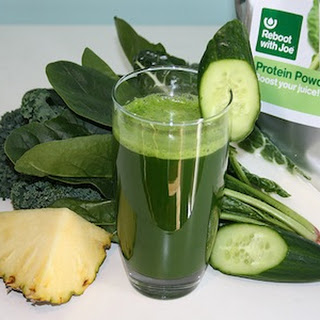 Green Protein Boost Juice.