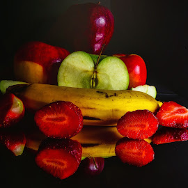Fruit and Vegetable Still Life by Dave Walters - Food & Drink Fruits & Vegetables ( fruit, nature, colors, lumix fz2500 )