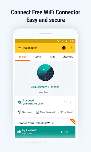WiFi Key Connector: Free Password and WiFi Map  screenshots 1