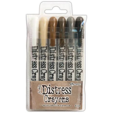 Tim Holtz Distress Crayon Set - 3