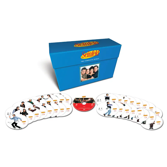 Seinfeld: Complete Box - Säsong 1-9 (33 disc)
