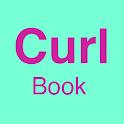 Curl Book - hair journal icon