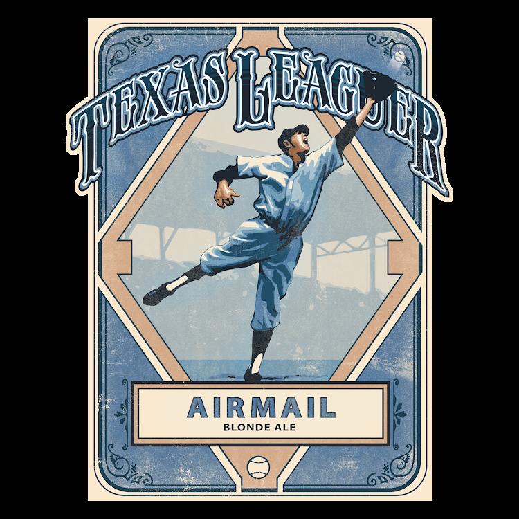 Logo of Texas Leaguer Airmail