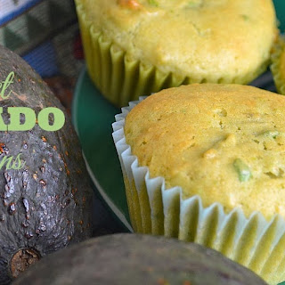 Sweet Avocado Muffins